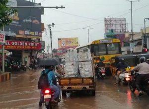 సికింద్రాబాద్ లో భారీ వర్షం