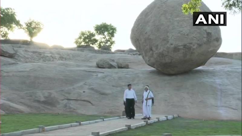 Modi Jinping in Mahabalipuram