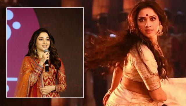 'సైరా' సక్సెస్ మీట్ లో షాక్ ఇచ్చిన తమన్నా.. ఇంతకీ ఏం చేసింది..?