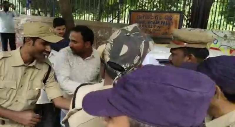 ఆర్టీసీ జేఏసీ కన్వీనర్ అశ్వత్థామరెడ్డి అరెస్టు