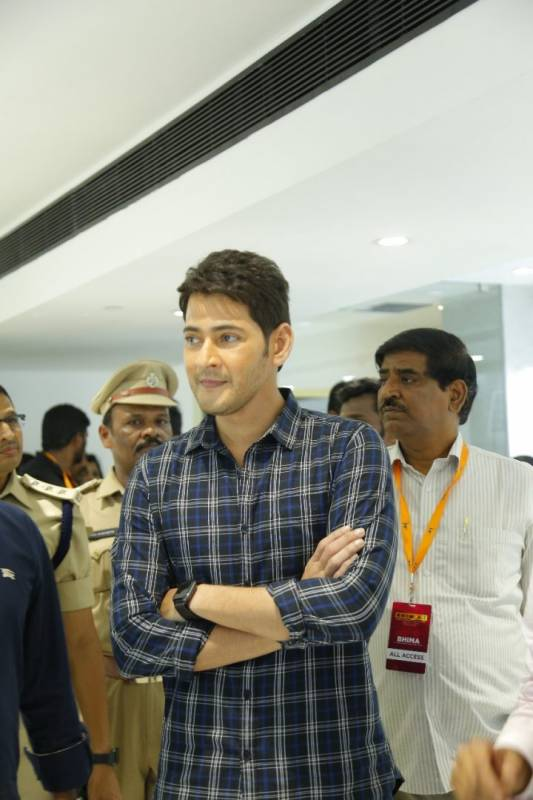 MaheshBabu opens Jewellery Shop