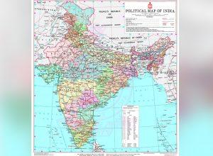 హమ్మయ్యా.. ఇండియా మ్యాప్లో అమరావతి..!