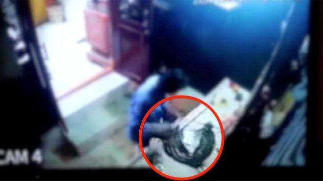 హైదరాబాద్ : గన్ఫౌండ్రి దుర్గాభవాని ఆలయంలో కిరీటం చోరీ..!