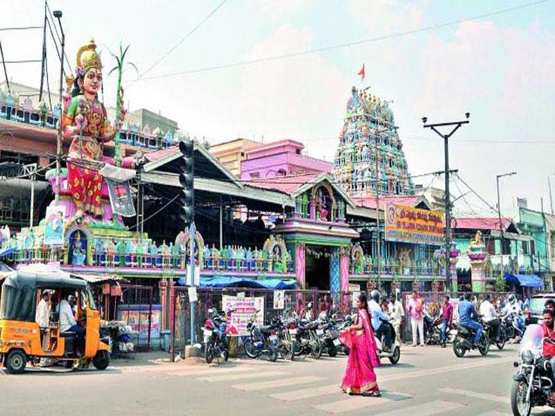 బల్కంపెట్ ఎల్లమ్మ ఆలయంలో రౌడీ గ్యాంగ్ హాల్చల్