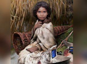 డీఎన్ఏ ఆధారం.. వేల ఏళ్ల నాటి బాలిక చిత్రం