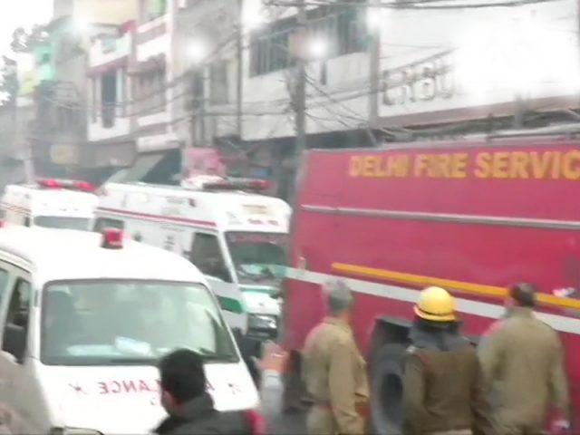ఢిల్లీలో భారీ అగ్ని ప్రమాదం.. 32 మంది సజీవ దహనం..!