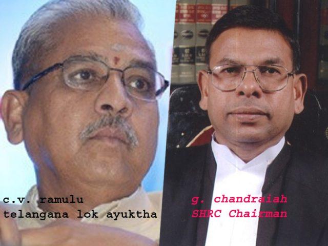 తెలంగాణ ఎస్ హెచ్ ఆర్ సీ చైర్మన్, తొలి లోకాయుక్త నియామకం