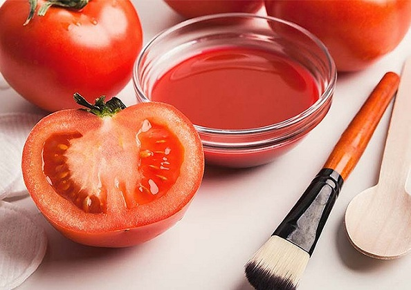 2.tomato Face Pack