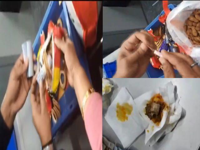 వేరుశనక్కాయ, మటన్ ముక్కల్లో విదేశీ కరెన్సీ