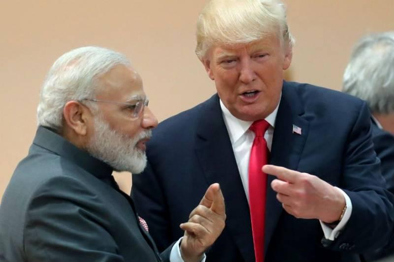 America President Trump india visit