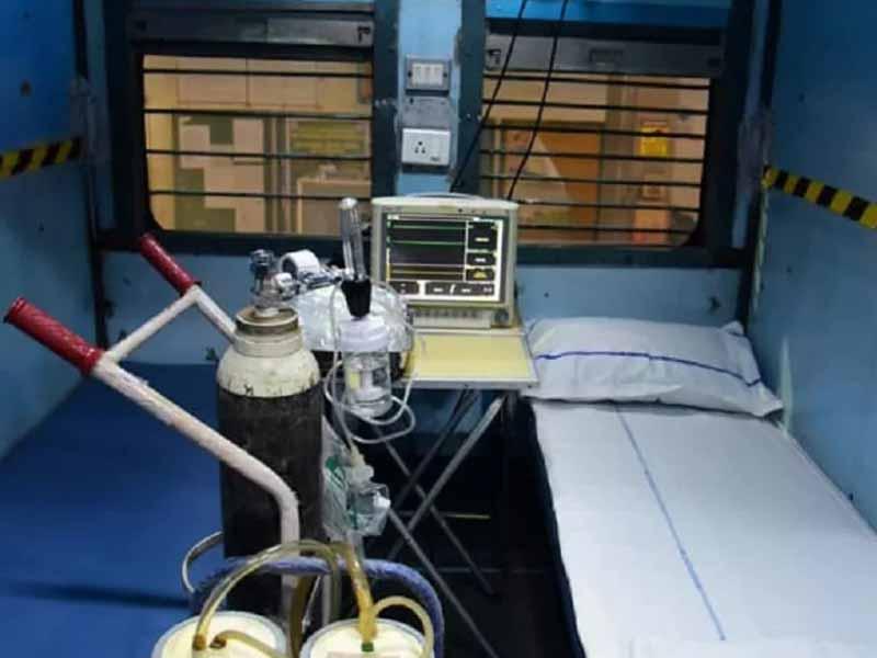 Train coach into isolation ward