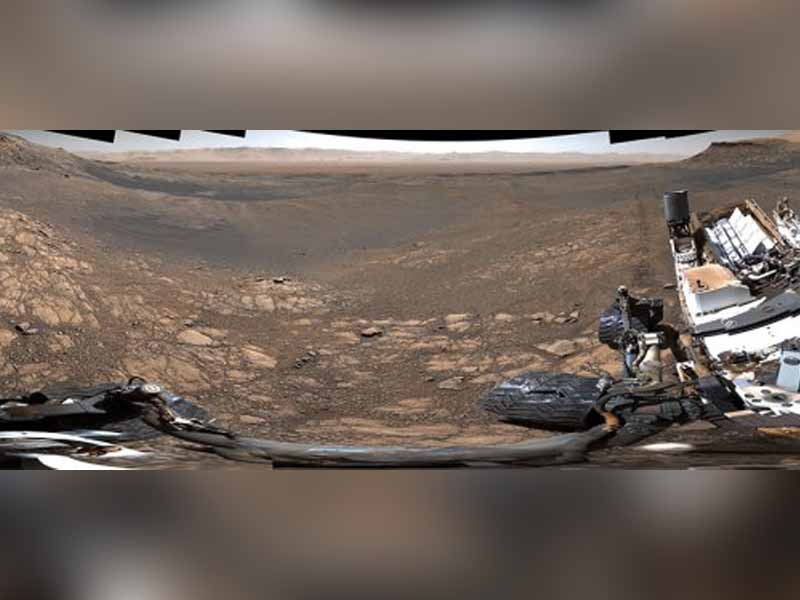 Curiosity Rover images from Mars