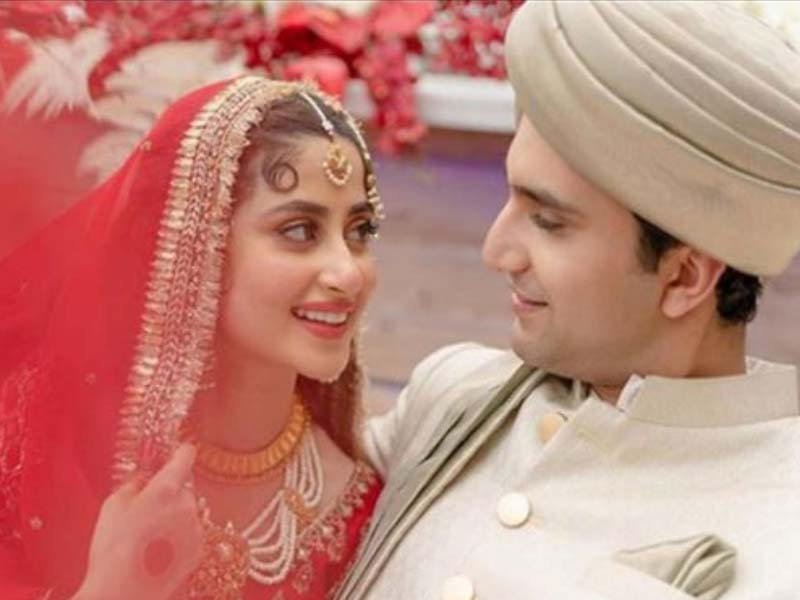 Pakisthani Actress Sajal Marriage