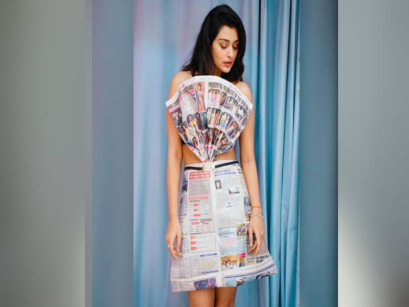 Payal Latest Paper Outfit Photos 3
