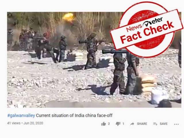 Fact Check : గల్వాన్ లోయలో మిస్ ఫైర్ అవ్వగానే భారత సైనికులు పారిపోయి వచ్చారా..?