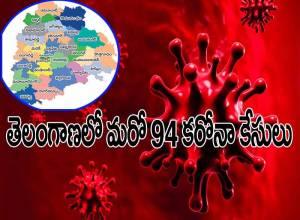 తెలంగాణలో మరో 94 కేసులు