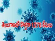 తెలంగాణలో కొత్తగా 1278 కరోనా పాజిటివ్ కేసులు