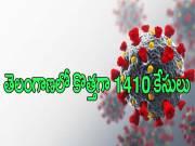 తెలంగాణలో తగ్గని కరోనా ఉధృతి.. కొత్తగా 1410 కేసులు