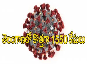 తెలంగాణలో తగ్గని కరోనా ఉధృతి.. కొత్తగా 1550 కేసులు