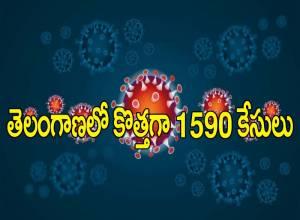 తెలంగాణలో ఆగని కరోనా ఉధృతి.. కొత్తగా 1590 కేసులు