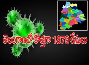 తెలంగాణలో కొత్తగా మరో 1879 కరోనా కేసులు