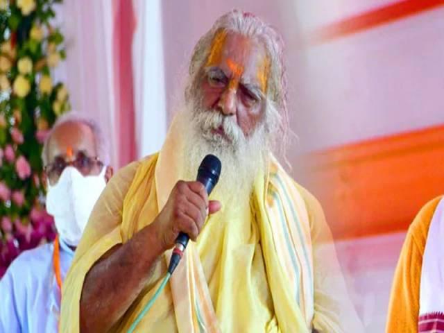 రామ మందిరం ట్రస్ట్ హెడ్ కు కరోనా పాజిటివ్.. అయోధ్యలో మోదీతో కలిసి స్టేజీ పంచుకున్నారు