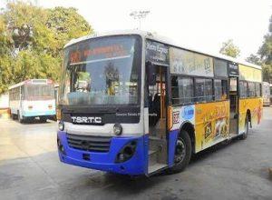 హైదరాబాద్: రోడ్డెక్కిన సిటీ బస్సులు