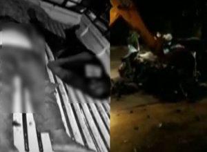 సిద్దిపేట జిల్లాలో రోడ్డు ప్రమాదం..సర్పంచ్ సహా ముగ్గురు మృతి